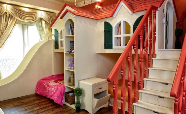 childs room creative bed