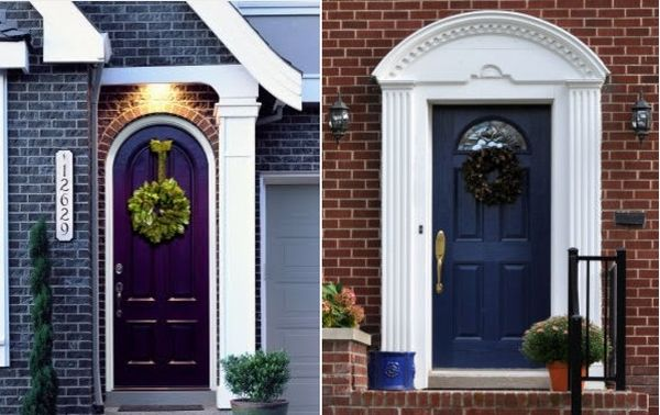 Creating an impression by replacing an entrance door for Front door entrances