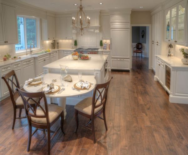 ... View in gallery Compact, white kitchen island ...