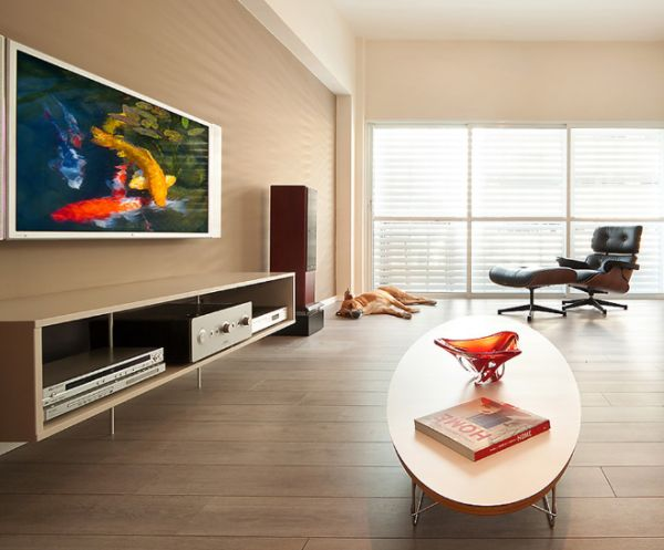 A few tricks to make your home look beautiful and original for Clean modern living room