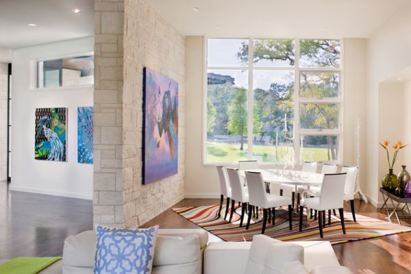 Rugs & Kids in the Dining Room: To Be or Not To Be?