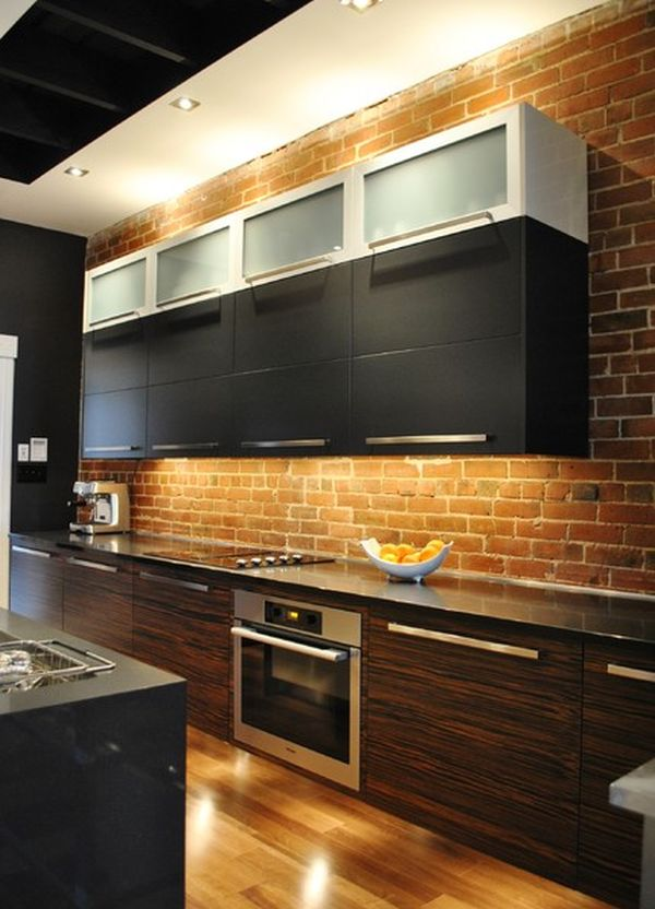 kitchen design brick kitchen brick backsplashes for warm and inviting cooking 254