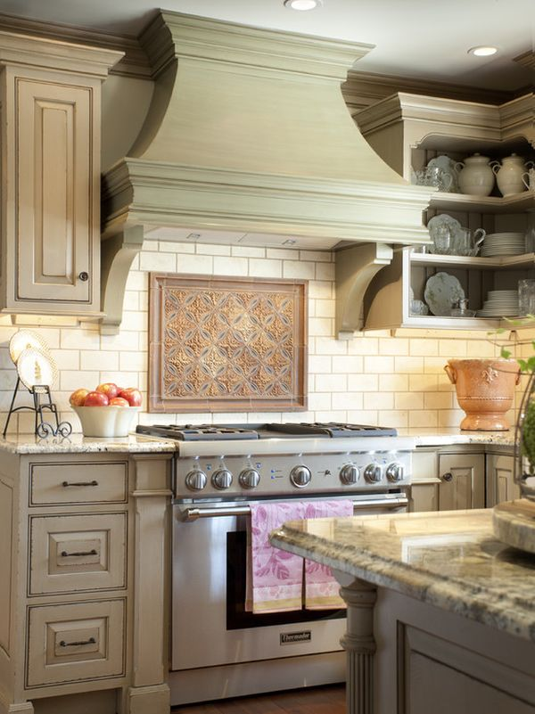 Decorative kitchen hoods, both functional and beautiful