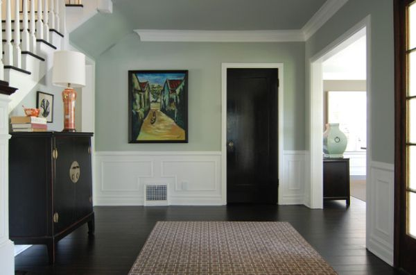 Dark hardwood floors an elegant and strong choice for any for Living room designs with dark hardwood floors
