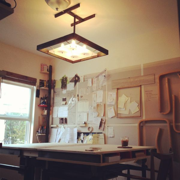 Lovely Bright Office Pendant Lamp.