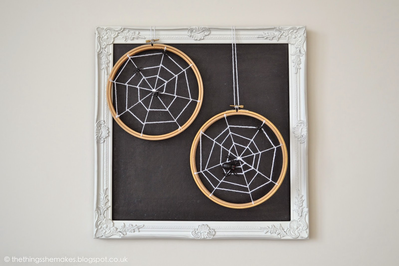 embroidery spider web