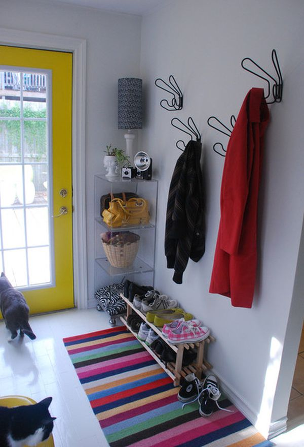 Practical And Spacesaving Entryway Hanger Design Ideas - Entryway decorating ideas for small spaces
