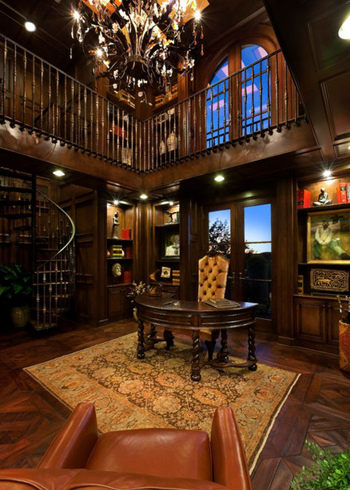 Charming Luxury Home Office. Sophisticated And Glamorous Home Luxury Office Y
