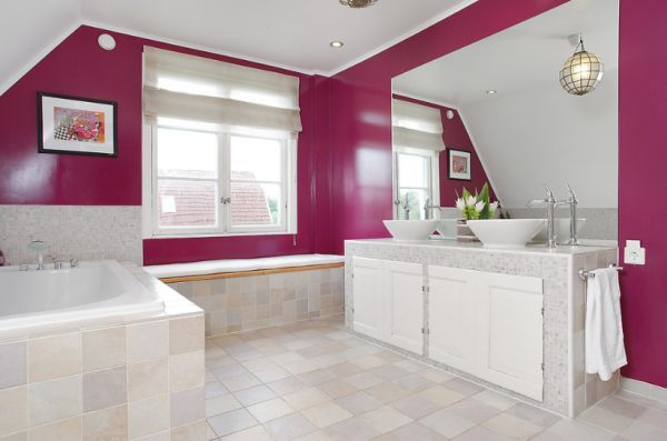 ... View In Gallery Master Bathroom Special Designed For Two Girls ... Part 58