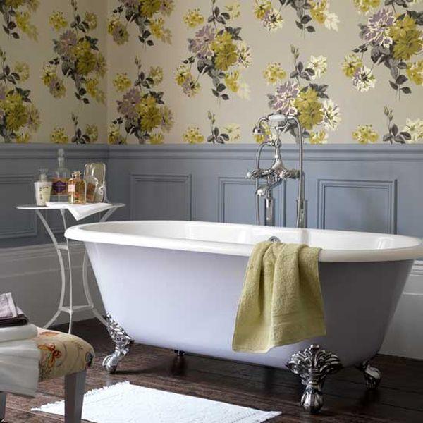 Farmhouse Bathroom Wallpaper Ideas
