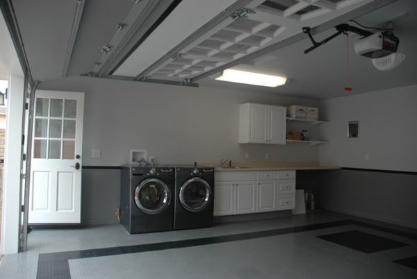 View In Gallery Transform Your Garage Into A Laundry Room