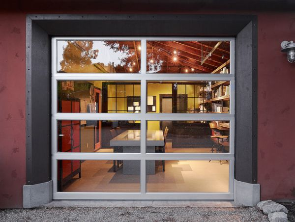 How to convert a garage into a living space for Exterior standalone retail