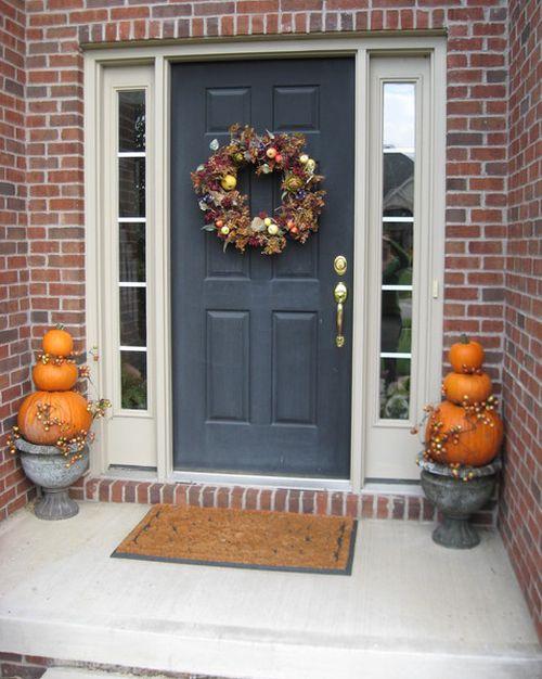Trending For Halloween 2012 Pumpkin Topiaries