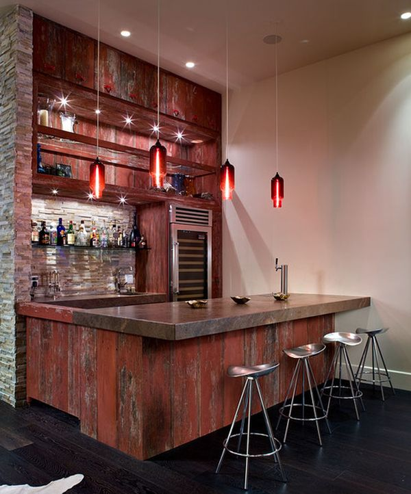 how to set out a funky home bar. Black Bedroom Furniture Sets. Home Design Ideas