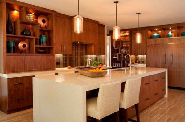 30 Kitchen Islands With Tables A Simple But Very Clever Combo