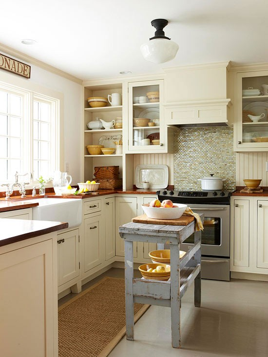10 small kitchen island design ideas practical furniture for Gorgeous small kitchens