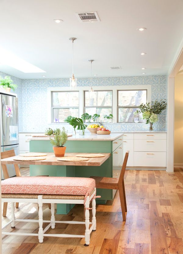 Kitchen Island And Dining Table Combination 30 kitchen islands with tables, a simple but very clever combo
