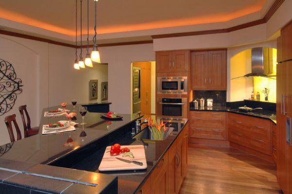 Hidden Lighting Kitchen