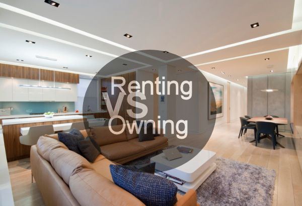 How to decide between renting an apartment and owning a home