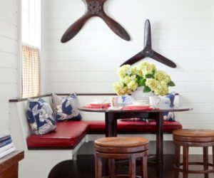 Comfortable and elegant banquettes and ways of including them in your home