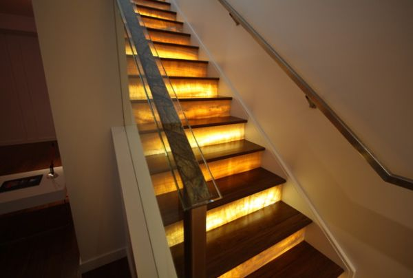 Stairs Lighting. View In Gallery Stairs Lighting N