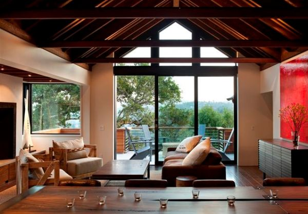 How to decorate a living room with large windows - Large pictures for living room ...
