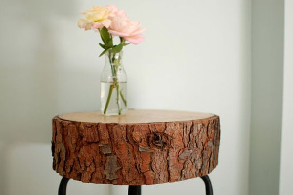 13 creative diy table designs for all styles and tastes log table solutioingenieria Gallery