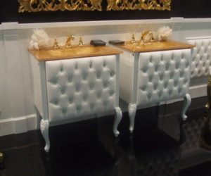 Sumptuous vanities for glamorous and luxurious bathrooms