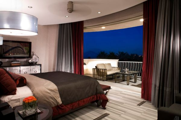 Perfect 13 Beautiful Bedroom Design Ideas With Balconies