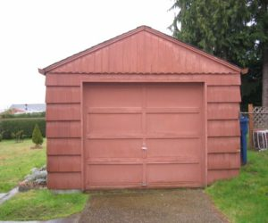 An old garage turned into a lovely little house by Michelle de la Vega