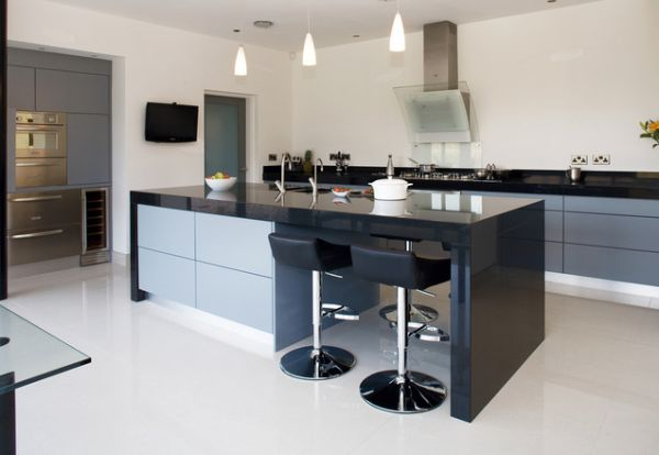 Modern Kitchen With Bar 10 Modern Bar Stool Designs For A Stylish Kitchen