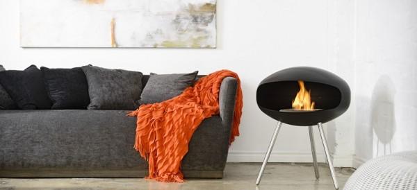 modern fireplace coocoon fires