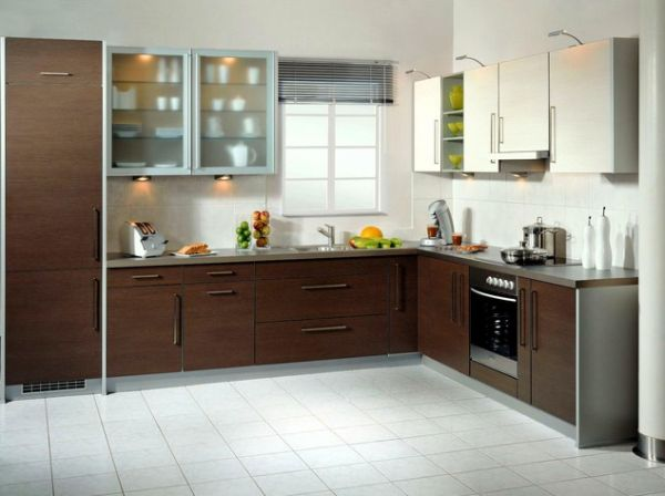 20 l shaped kitchen design ideas to inspire you. Black Bedroom Furniture Sets. Home Design Ideas