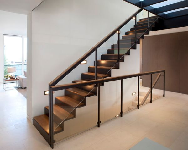 : modern stair lighting - azcodes.com