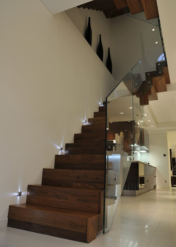 10 stairway lighting ideas for modern and contemporary interiors view in gallery mozeypictures Image collections