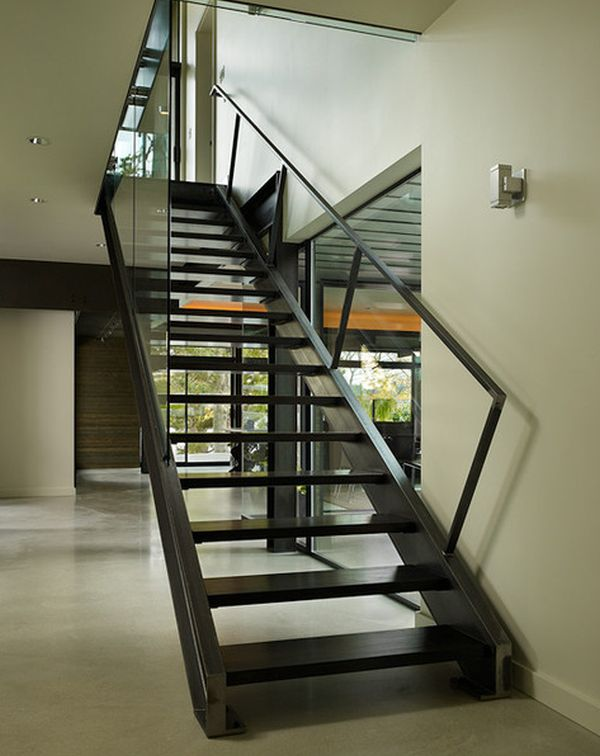 Best 25 Modern Staircase Ideas On Pinterest: 10 Steel Staircase Designs: Sleek, Durable And Strong
