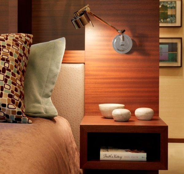 Nightstand Wood Modern