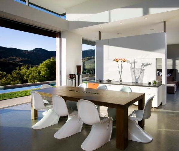 Most Lucrative Dining Room Interior Design Ideas To Beauty: The Revolutionary Panton Chair, A Classic That Defines