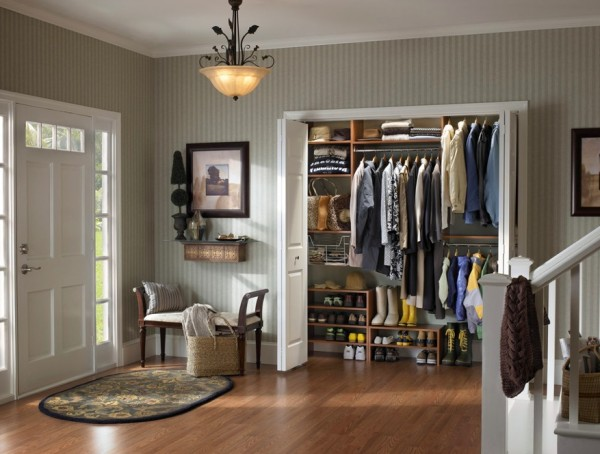 Organized Closet Hall