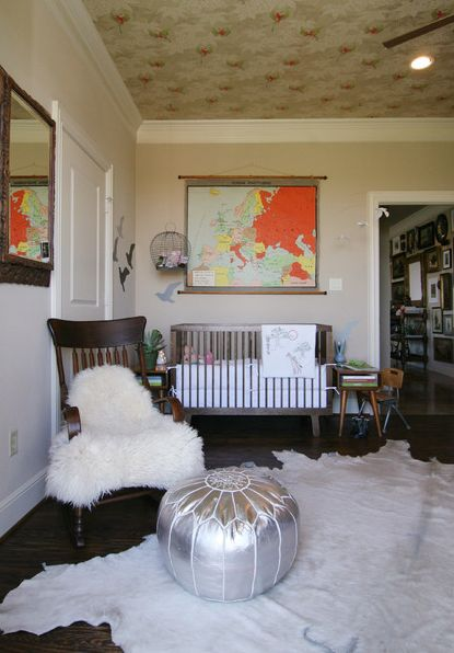 Cowhide rugs and a few ways of using