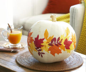 7 Fall-Inspired Ways To Decorate With Leaves