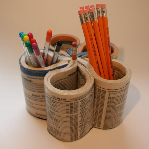 Creative Pen Stand Designs : Creative and unusual diy pencil holder ideas for your
