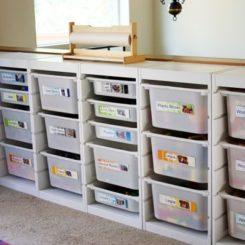 5 Simple Ways To Organize The Playroom Good Ideas
