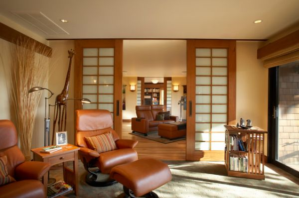 Simple home decor living room - 10 Sliding Interior Doors A Practical And Stylish