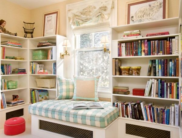 reading nook children inspired