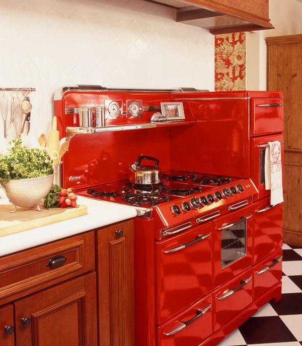 Eye-catching Kitchen Appliances, A Fun And Colorful Way Of