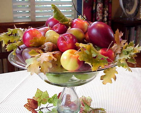 Apple decoration ideas for this fall for Apples for decoration