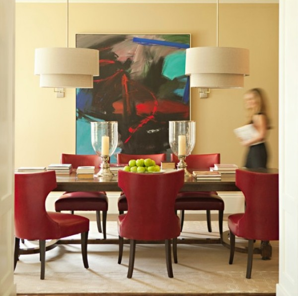 Retro Dining Room Lampshades