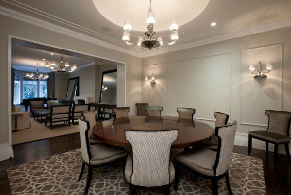 Round Dining Room Table identify the dining table shape that's right for you