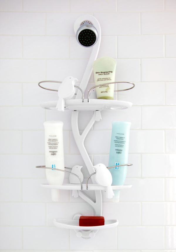 Exceptional 6 Untraditional Shower Caddies, Playful Designs For Unique Decors Awesome Ideas